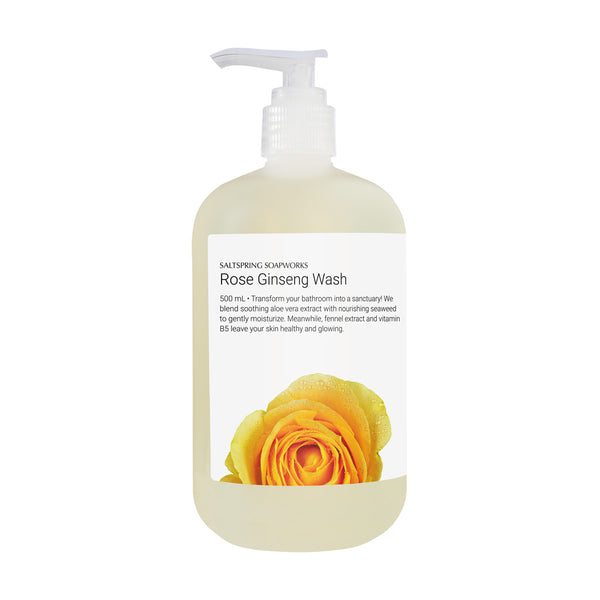 Rose Ginseng Wash