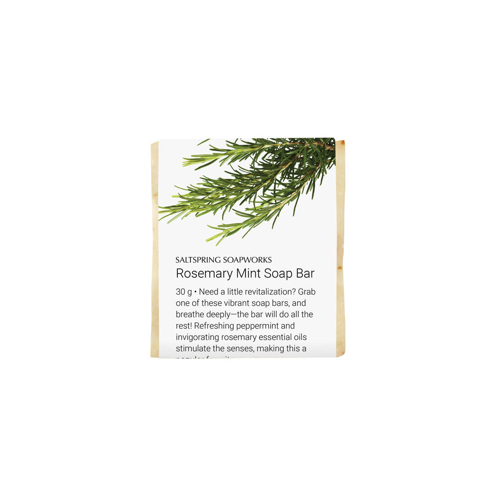 Rosemary Mint Soap Bar (Travel Size)