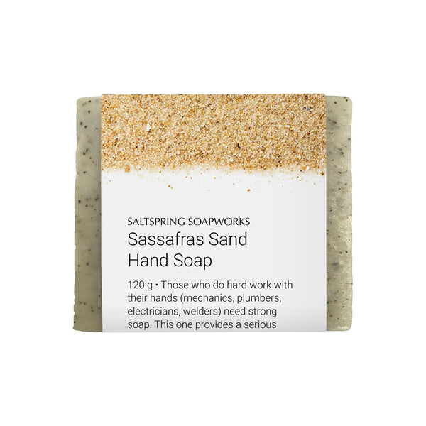 Sassafras Sand Hand Soap Bar