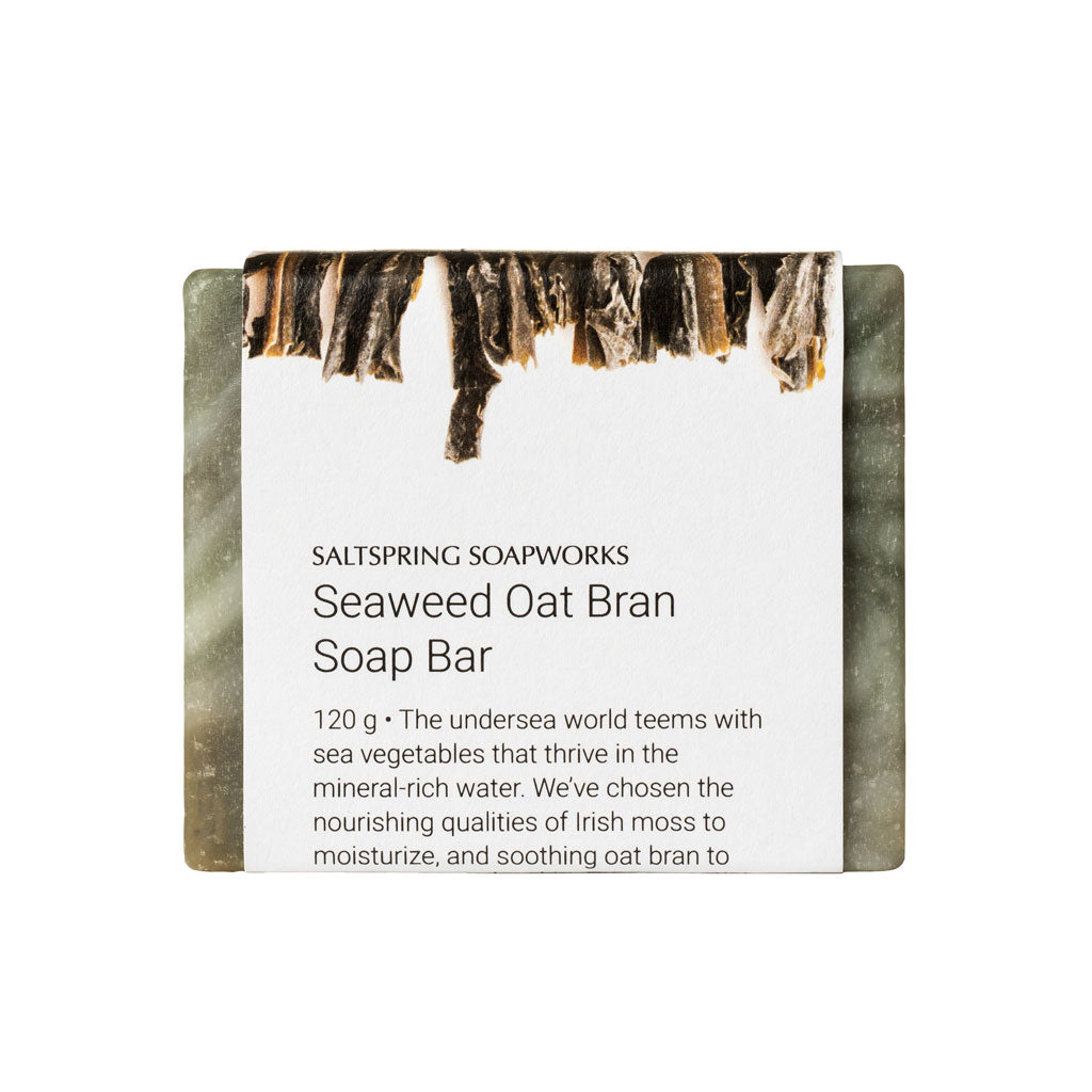 Seaweed Oat Bran Soap Bar