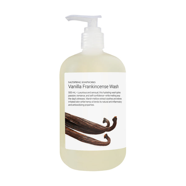 Vanilla Frankincense Wash