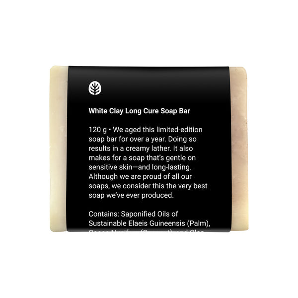 White Clay Long Cure Soap Bar