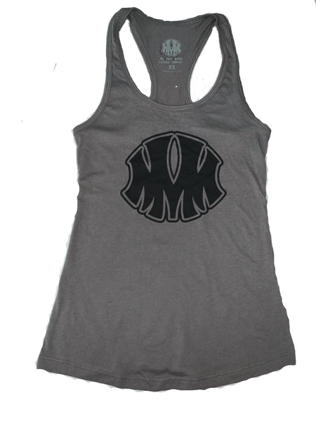 Gray MVM Ladie's Tank - Me Vale Madre Clothing
