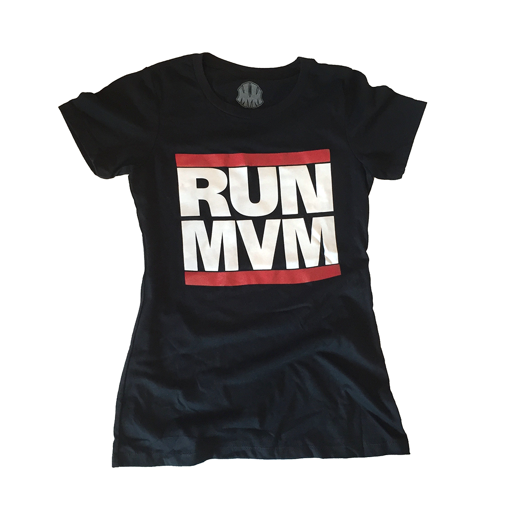 RUN MVM Women's Tee - Me Vale Madre Clothing
