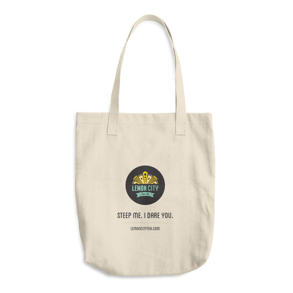 Steep Me I Dare You - Cotton Tote Bag