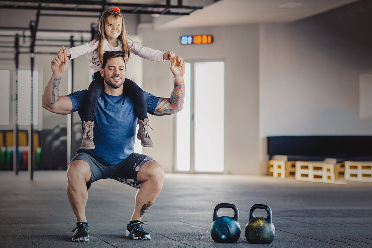 Fathers Who Exercise Have Smarter Babies