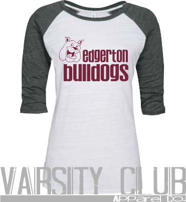 EDG-OS EZ074-Ladies Baseball Tee