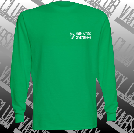 HPWO-29LSR-Unisex Long Sleeve Tee - Irish Green
