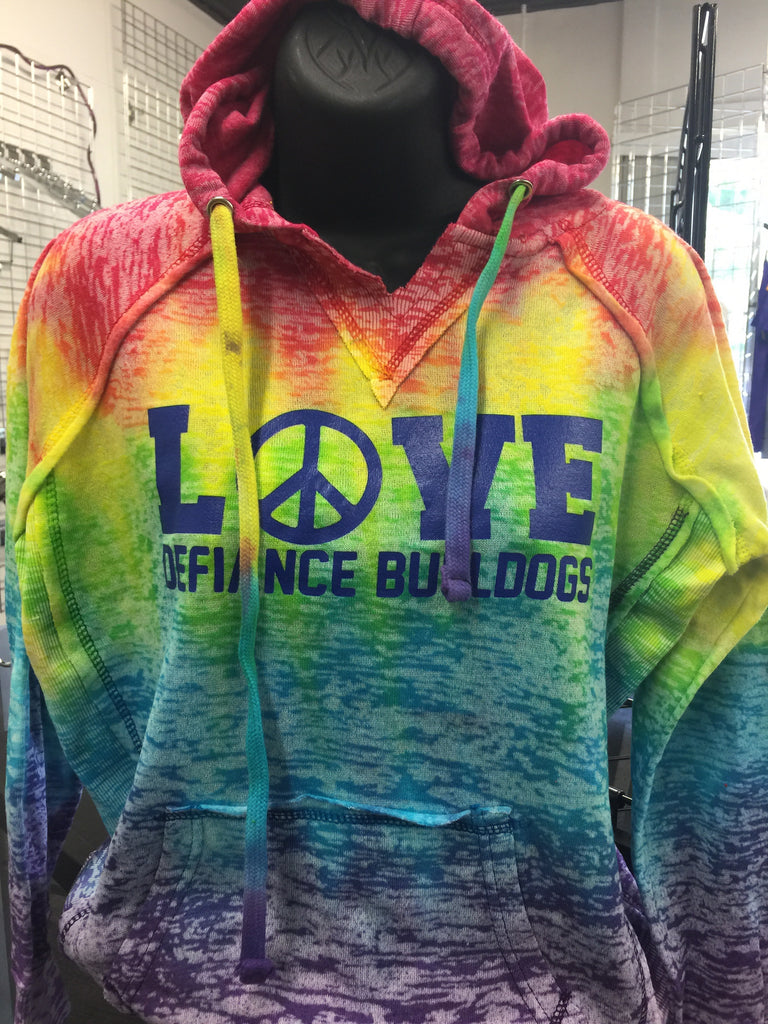 CLOSEOUT - Ladies/Girls Defiance Love Hoodie