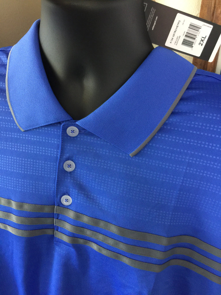 CLOSEOUT - * Size 2X* Men's Adidas Polo