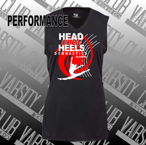 HOH-Ladies/Girls Sleeveless Performance Tee