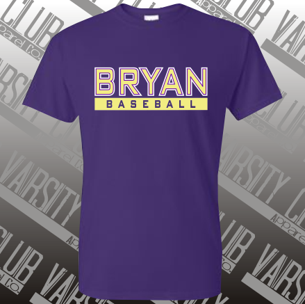 BBL - 8000 - Cotton/Poly Blend Tee - Purple