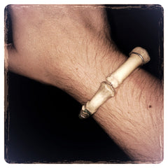 Real Human Finger Bone Bracelet