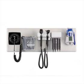 Amico Diagnostic Station with Dispenser, Aneroid & Thermometer