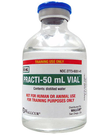 Practi-50 mL Vial™ (for training)