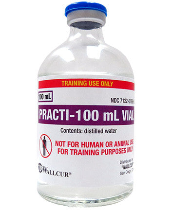 Practi-100 mL Vial™ (for training)