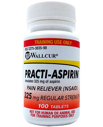 Practi-Aspirin™ 325 mg (for training)