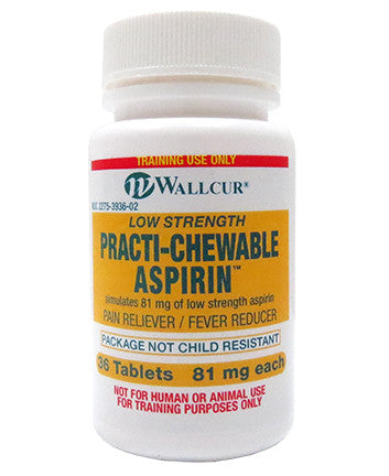 Practi-Chewable Aspirin™ (for training)