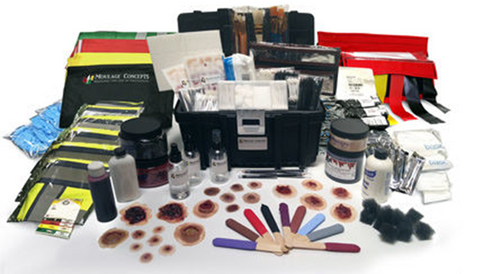 Active Shooter Moulage Kit