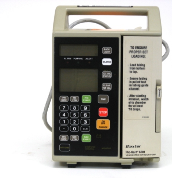 Baxter Flo-Guard 6201 Infusion Pump