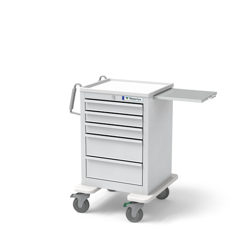 5-Drawer Short Economy Cart