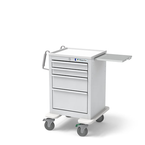 4-Drawer Short Economy Cart
