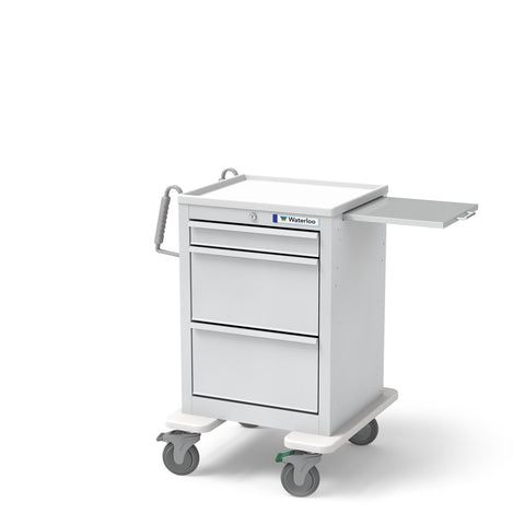 3-Drawer Short Economy Cart