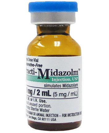 Practi-Midazolam™ 2 mL Tinted Vial <BR>Box of 40