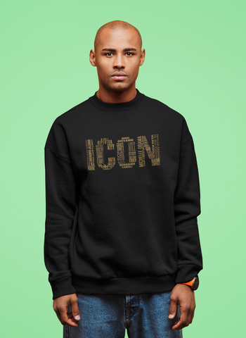 Namesake Sweatshirt (Gold Font)