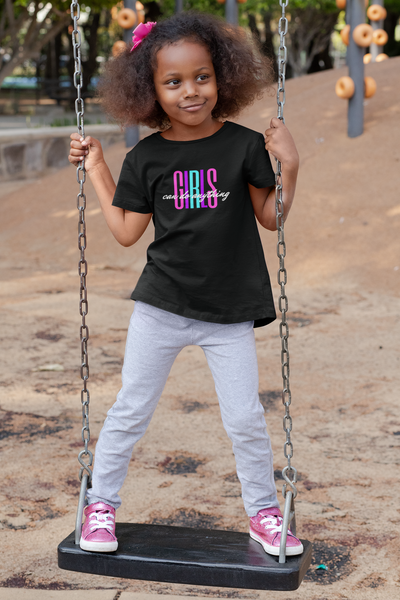 Girls Can Do Anything Kid Tee