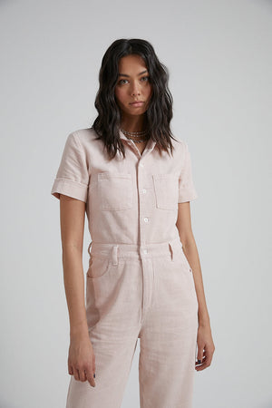Shelby Hemp Corduroy Jumpsuit