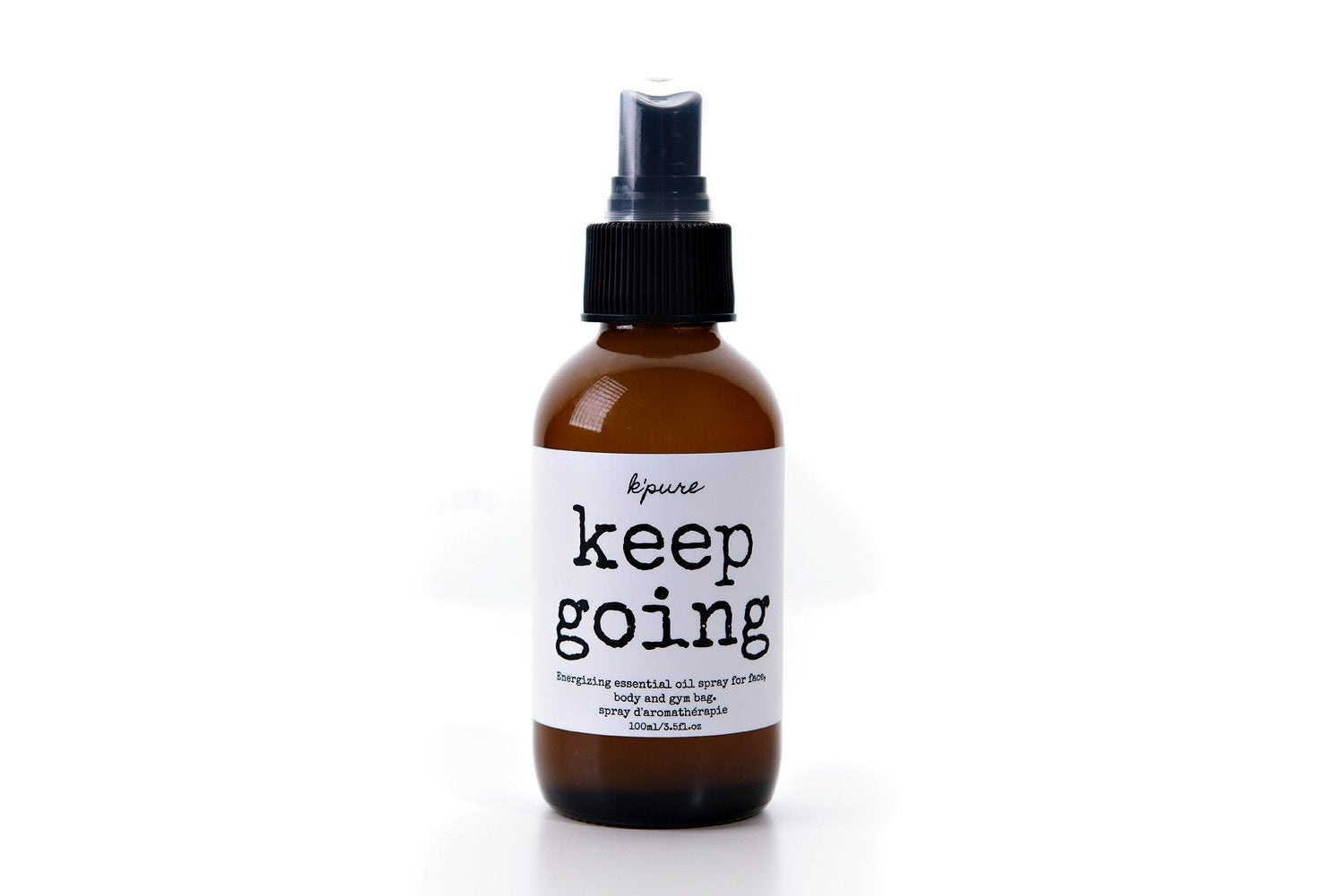 Keep Going Energizing Essential Oil Spray