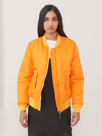 ALPHA INDUSTRIES MA-1 W Yellow Gold Flight Jacket