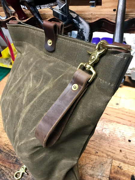 Waxed Canvas Bags and Gear
