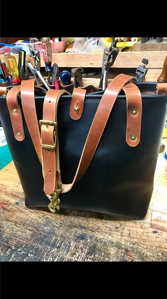 Leather / Canvas Tote Bags