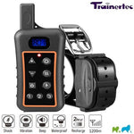 DT1200V Rechargeable Submersible Remote E-Collar with Shock & Vibration for 1 Dog 1200m