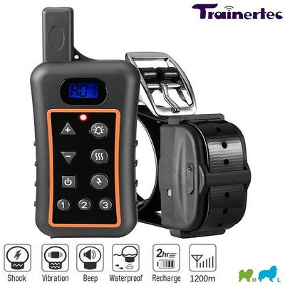 1200m • DT1200V Remote Training Shock Collar for 1/2/3 Dogs