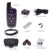 600m • PTL600 Remote Training Shock Collar for 1/2/3 Dogs
