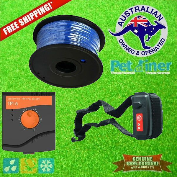 TP16 DIY Invisible Electric Dog Fence Hidden Boundary Fencing System *FREE SHIPPING IN AUST*