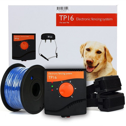 tp16 diy invisible electric dog fence hidden boundary fencing system free shipping in aust