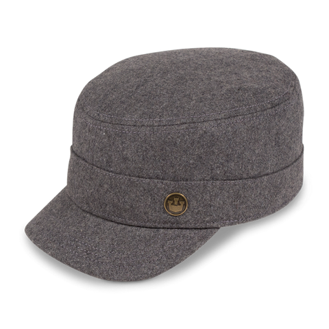 Invigorated City Wool Hat in Grey