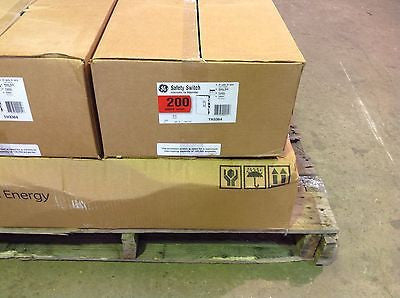 GE TH3364,  200 AMP 600 VOLT 3 PHASE FUSIBLE DISCONNECT