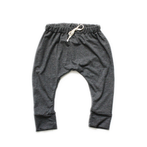 LAST ONE! Harem Pants, Charcoal, 3T