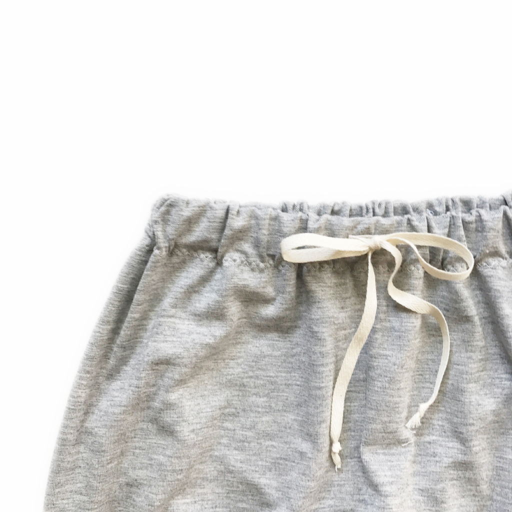Harem Pants, Heather Grey