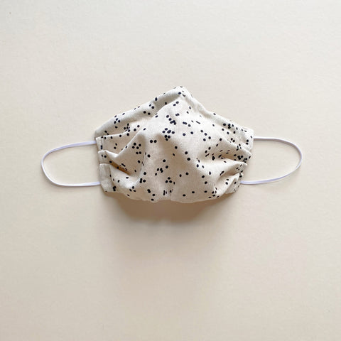 PREORDER Fabric Mask, Dots - ALL SIZES