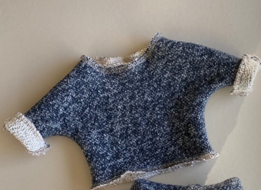 Doll: Sweater, Navy