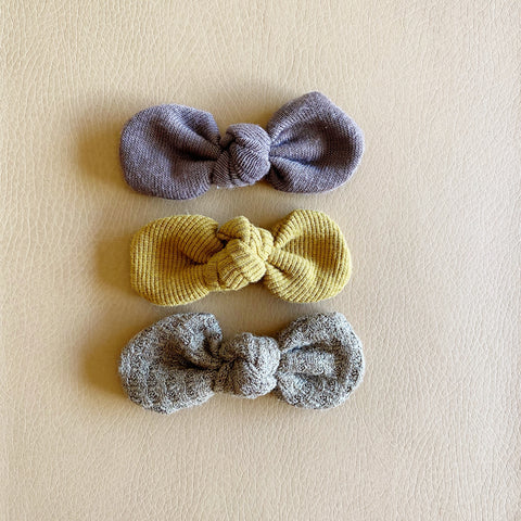 Knotted Bows, Set of 3, No. 16