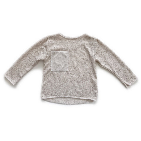 Reversible Lightweight Sweater, Oatmeal