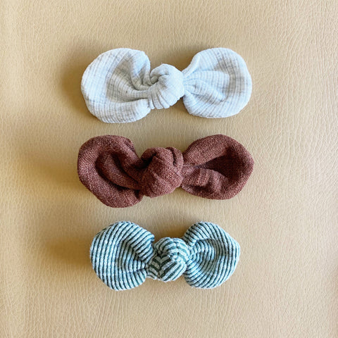 Knotted Bows, Set of 3, No. 9