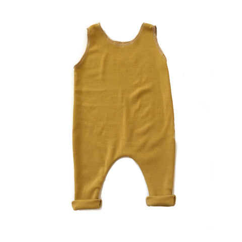 LIMITED! Basic Romper, Goldenrod